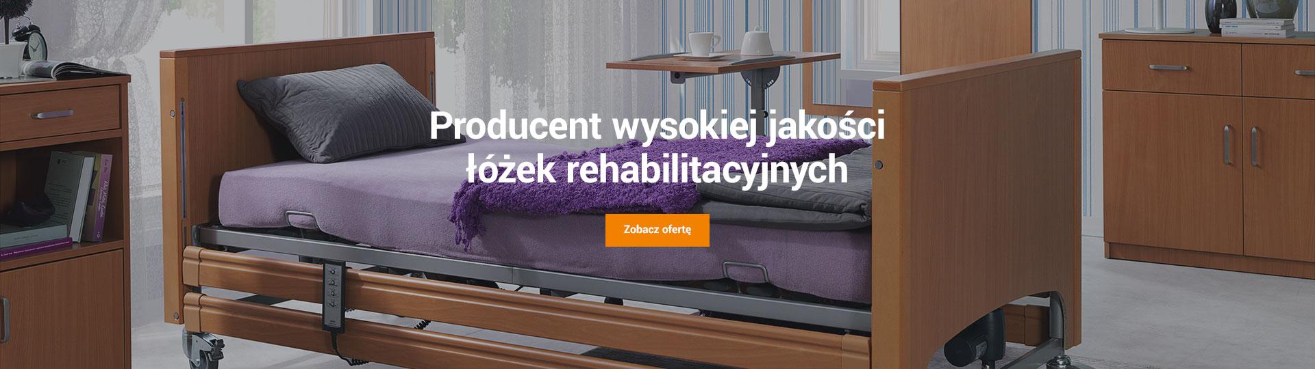 Producent łóżek Rehabilitacyjnych Elektrycznych Szafki